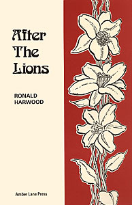 After The Lions by Ronald Harwood publisher Amber Lane Press