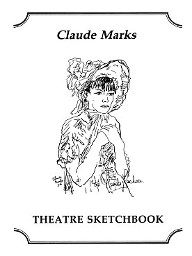 Theatre Sketchbook by Claude Marks publisher Amber Lane Press